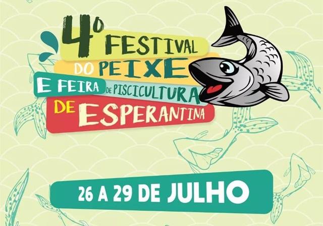 Prefeitura de Esperantina divulga a data do 4º Festival do Peixe