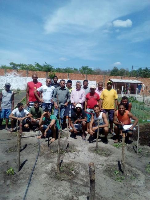 Cursos de Horticultura são ofertados pela Secretaria de Desenvolvimento Rural