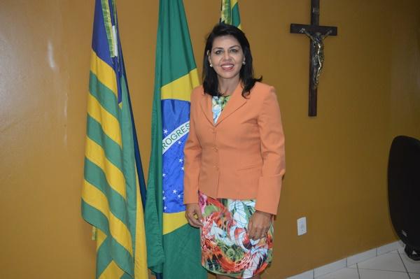 Vereadora Surama Martins - DEM destacou as boas ações da administração municipal
