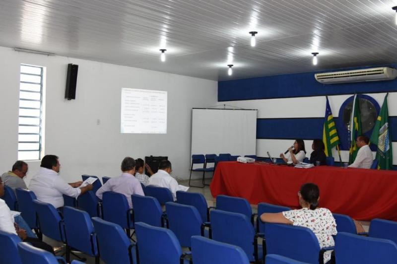 Prefeitura presta contas do 1º quadrimestre de 2018 ao Legislativo