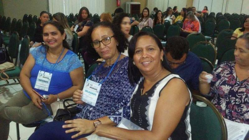 Técnicas da Sasc de Curralinhos participam de conferência em Teresina