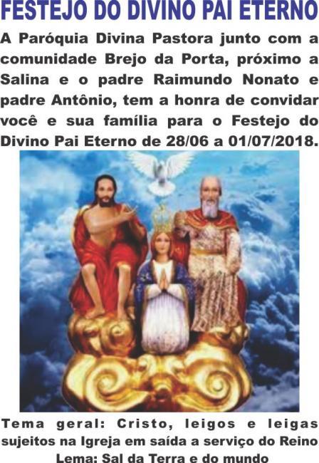 Festejo do Divino Pai Eterno na Comunidade Brejo da Porta