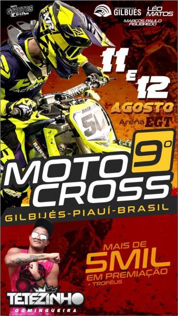 9º Motocross de Gilbués Piauí