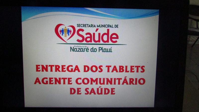 Secretaria Municipal de Saúde entrega Tablets para Agentes de Saúde