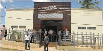 Traficantes presos em Barreiras do Piauí  participam de audiência na Comarca de Gilbués