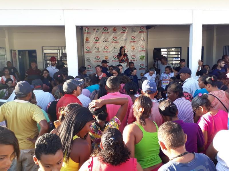 Prefeitura de Oeiras inicia entrega de mais de 1.800 cestas básicas arrecadadas na 6ª Expoeiras