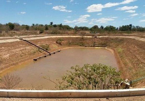 Obra de esgotamento sanitário de Guadalupe entra em fase de conclusão