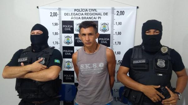 Polícia Civil de Água Branca cumpre mandado judicial e prende homem pelo crime de porte ilegal