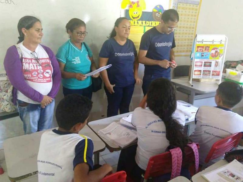 Município de Barro Duro intensifica programa saúde na escola