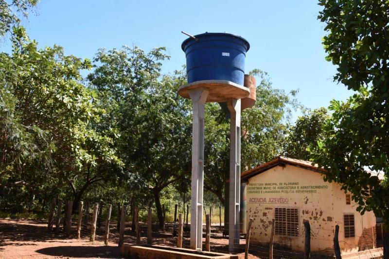 SDR realiza reparos no Sistema simplificado de abastecimento de água nas comunidades rurais