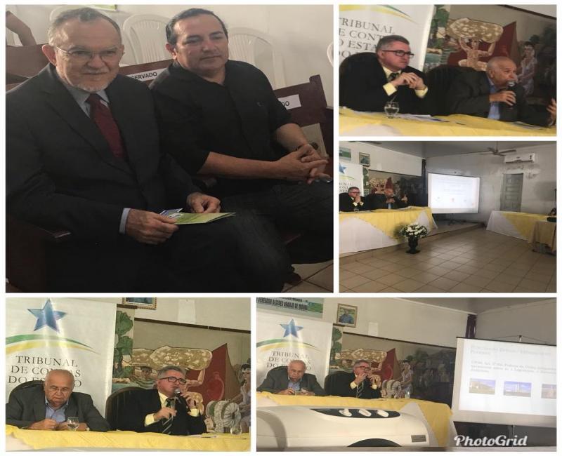 Francis Lopes participa de seminário realizado pelo TCE-PI em Simplício Mendes