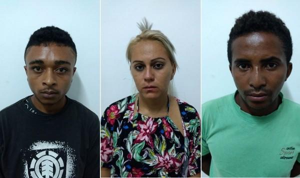 Três pessoas são presas por tráfico de drogas em Amarante