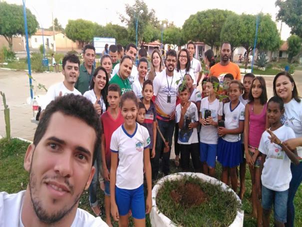 INEC desenvolve ação solidária em Oeiras dentro do projeto 'Calendário do Bem'