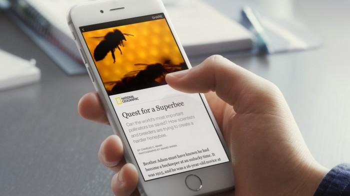 Facebook lança o recurso Instant Articles no Brasil