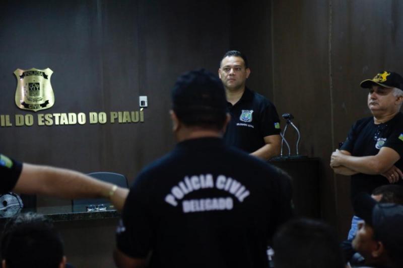 Operação prende candidatos que fariam concurso da PC-PI neste domingo