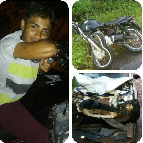 Jovem morre em grave acidente de moto em São João do Arraial