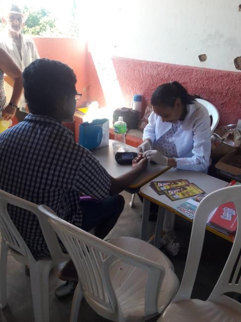 Projeto Saúde na comunidade realiza ação na localidade Bonfim