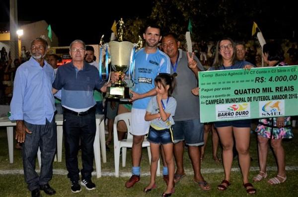 Paulistinha é campeão barrodurense de futebol 2018