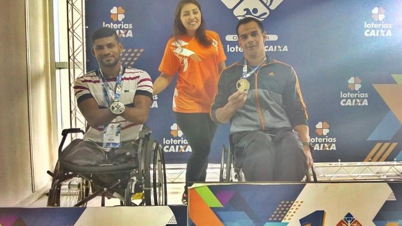 Marcos Jeane conquista medalhas no Circuito Brasil Loterias Caixa