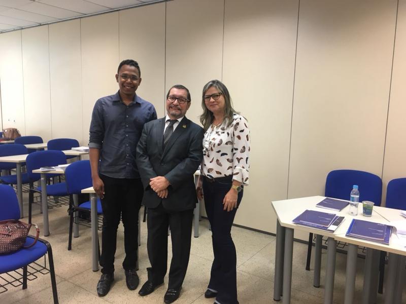 Representantes de Lagoa do Piauí participam de capacitação sobre Cerimonial e Imagem Publica