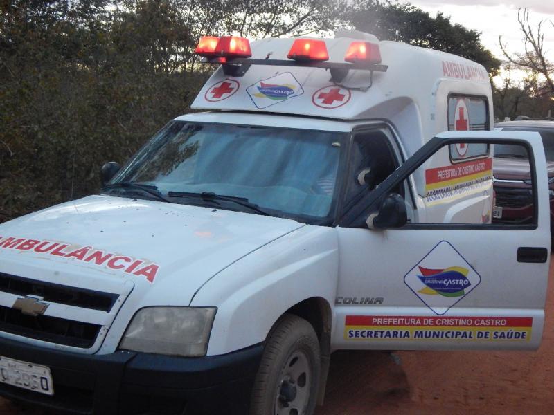 Cristino Castro: comunidade Lagoa Grande ganha ambulância exclusiva para os interiores