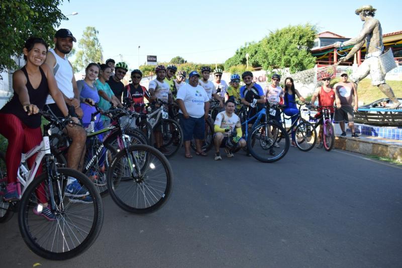 Secretaria de Meio Ambiente realiza Ciclismo Ecológico em Luzilândia