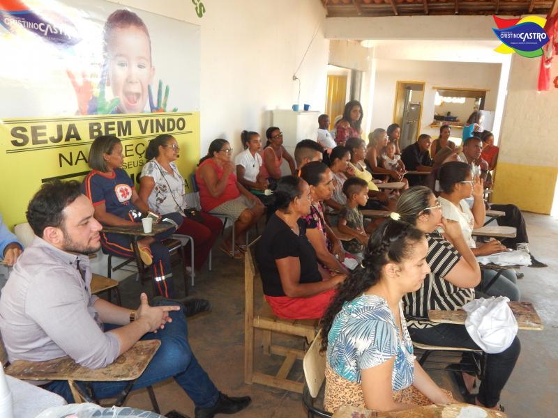 Prefeitura de Cristino Castro realiza AÇÃO SOCIAL no povoado Lagoa Grande