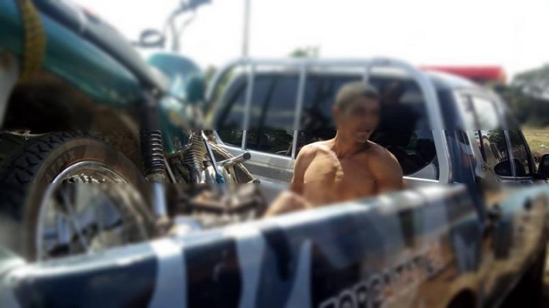 Polícia prende um dos suspeitos de ter assaltado o Posto de Combustível em Boqueirão do Piauí