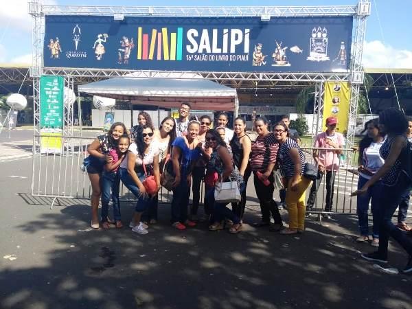 Alunos da rede municipal de Agricolândia participam do Salipi 2018