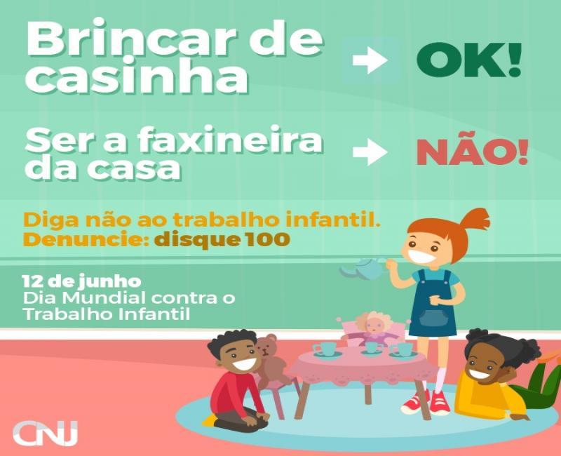 Hoje começam as minis palestras sobre trabalho infantil nas escolas de Santa Filomena