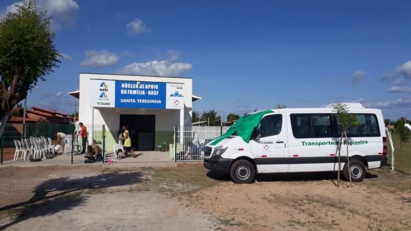 Prefeito Zé Neto inaugura NASF equipado e com van para transportes de pacientes
