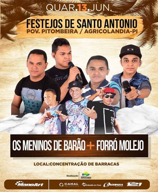 Expectativa total do público para o show com Meninos de Barão e Forrozão Molejo