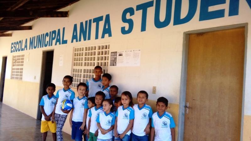 Prefeitura e secretaria de educação incentivam o esporte nas escolas municipais