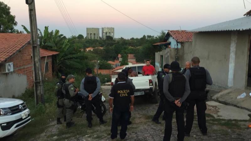 Criminosos são presos durante operação na zona norte de Teresina