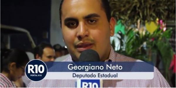 Entrevista com Deputado Estadual Georgiano Neto em São Pedro do Piauí