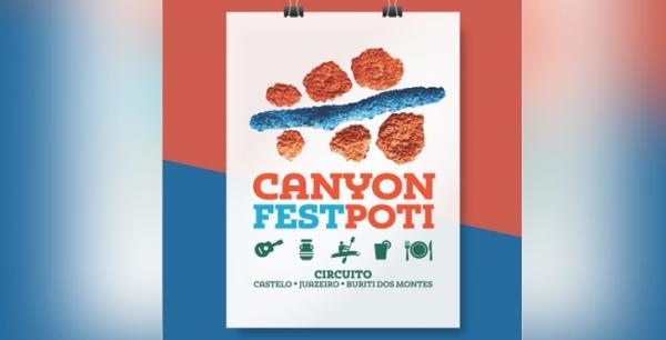 Canyon Fest Poti será o novo Festival de Castelo do Piauí