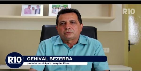 Prefeito Genival Bezerra de Joaquim Pires- PI