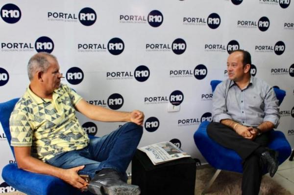 Vice-prefeito de Lagoa do Piauí concede entrevista ao Portal R10