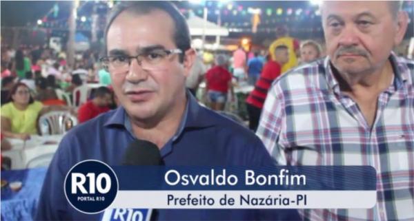 Entrevista com o prefeito do município de Nazária/PI, Osvaldo Bonfim de Carvalho